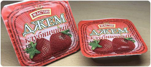 Купить порционный джем 20 гр Краснодар