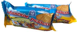 Порционное печенье 30 гр Кубанское раздолье