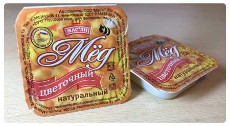 Купить мед порционный 20 гр